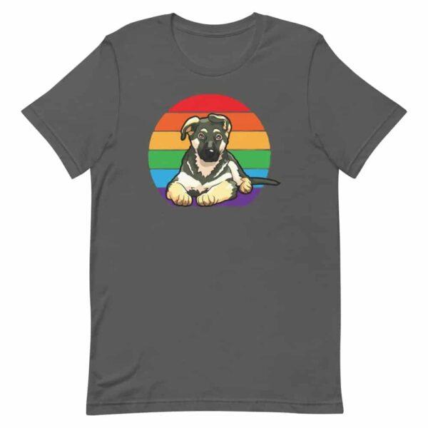 German Shepherd LGBT Tshirt