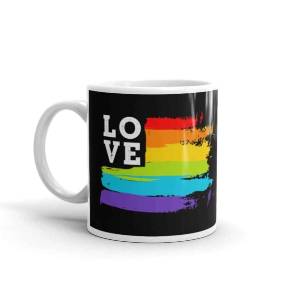 Rainbow Love Pride Coffee Mug