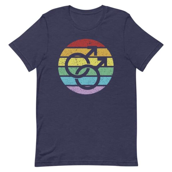 Retro Gay Male Symbol LGBT Pride Tshirt