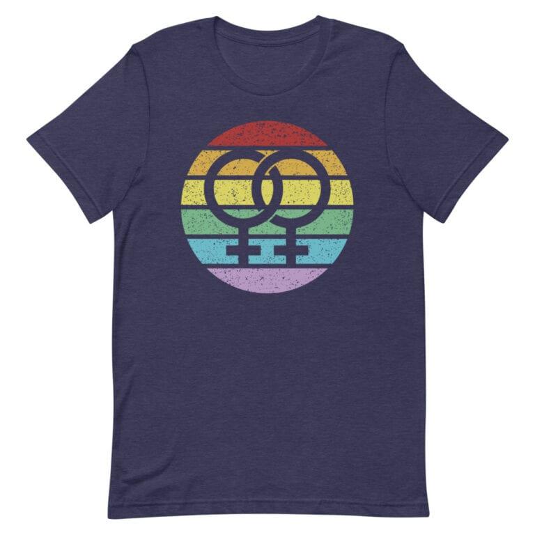 Retro Female Symbol LGBT Pride Tshirt