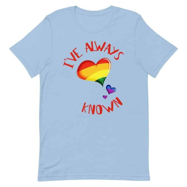 I've Always Known Coming Out LGBTQ Pride Tshirt