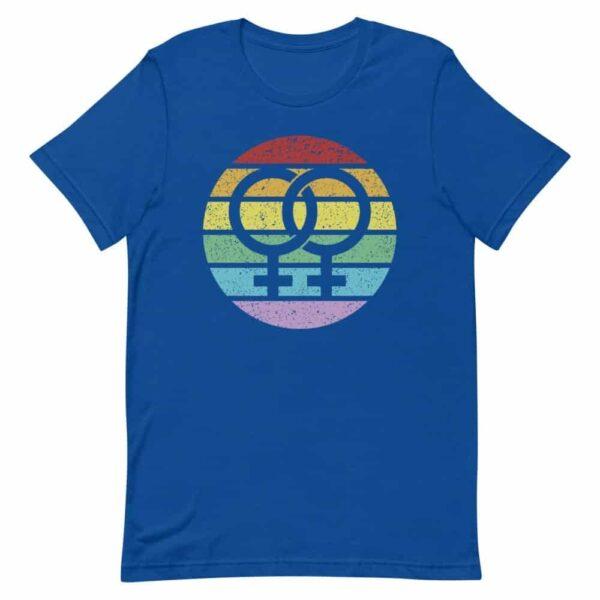 Retro Female Symbol LGBTQ Pride Tshirt