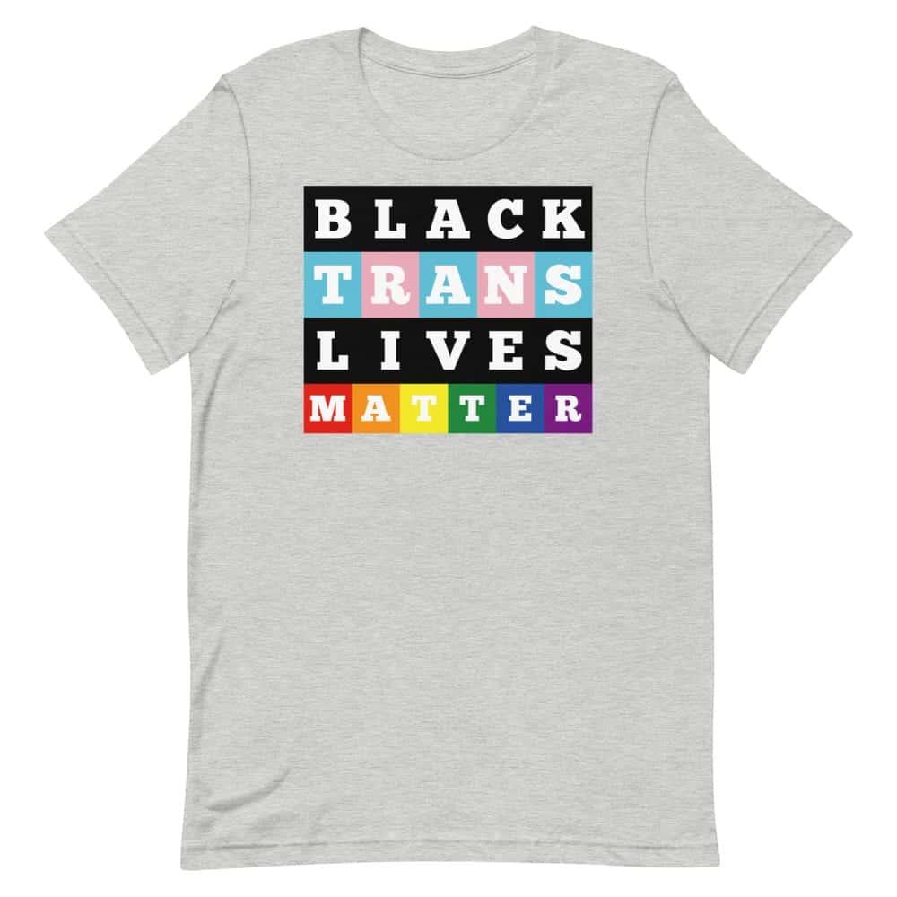 Pride Black Trans Lives Matter Tshirt