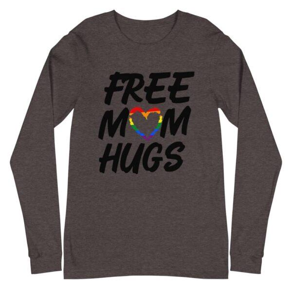 Free Mom Hugs LGBT Pride Long Sleeve Tshirt