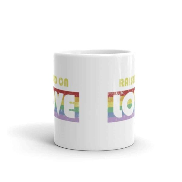 Raise On Love Pride LGBT Coffee Mug