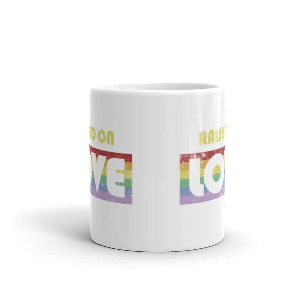 Raise On Love Pride LGBT Coffee Mug