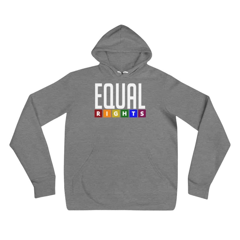 EQUAL RIGHTS LGBTQ Lightweight Hoodie Heather