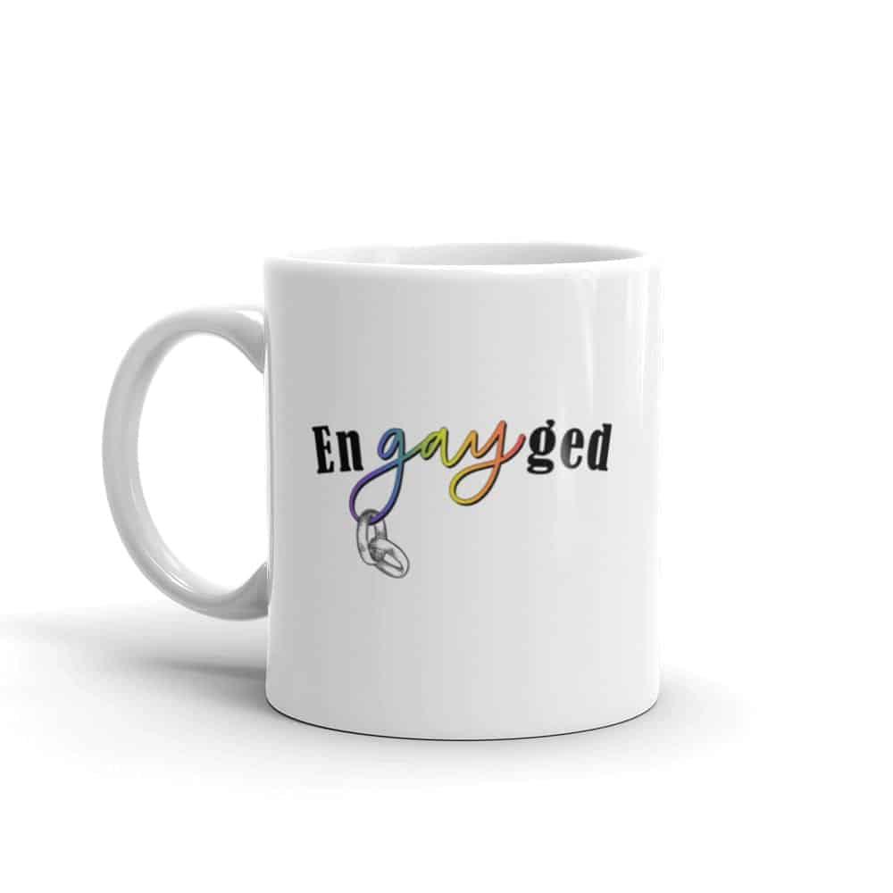 enGAYged LGBTQ Pride Coffee Mug