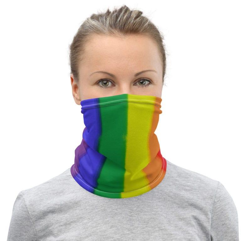 LGBTQ Rainbow Flag Face Mask