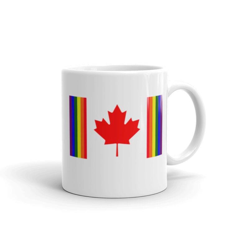 Canada Pride LGBTQ Coffee Mug