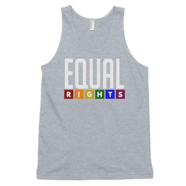 Equal Rights LGBTQ Tank Top Grey