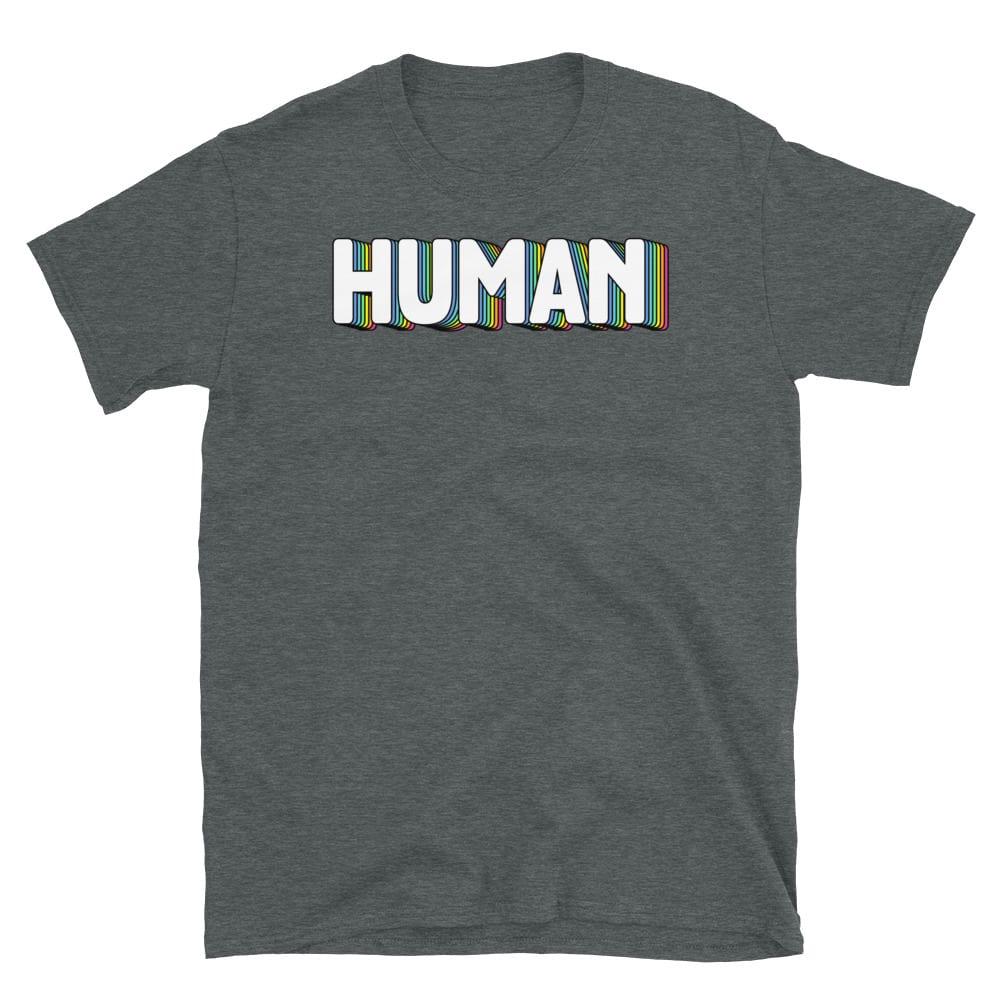 HUMAN Pride Short Sleeve Tshirt