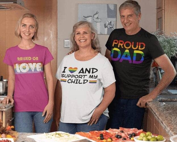 LGBT Tshirt Depot Family Pride Tshirts