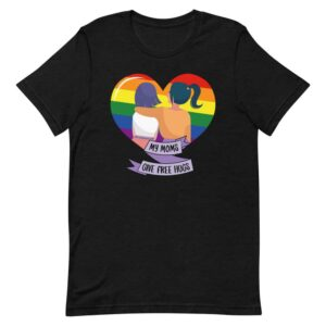 My Moms Give Free Hugs Pride Shirt