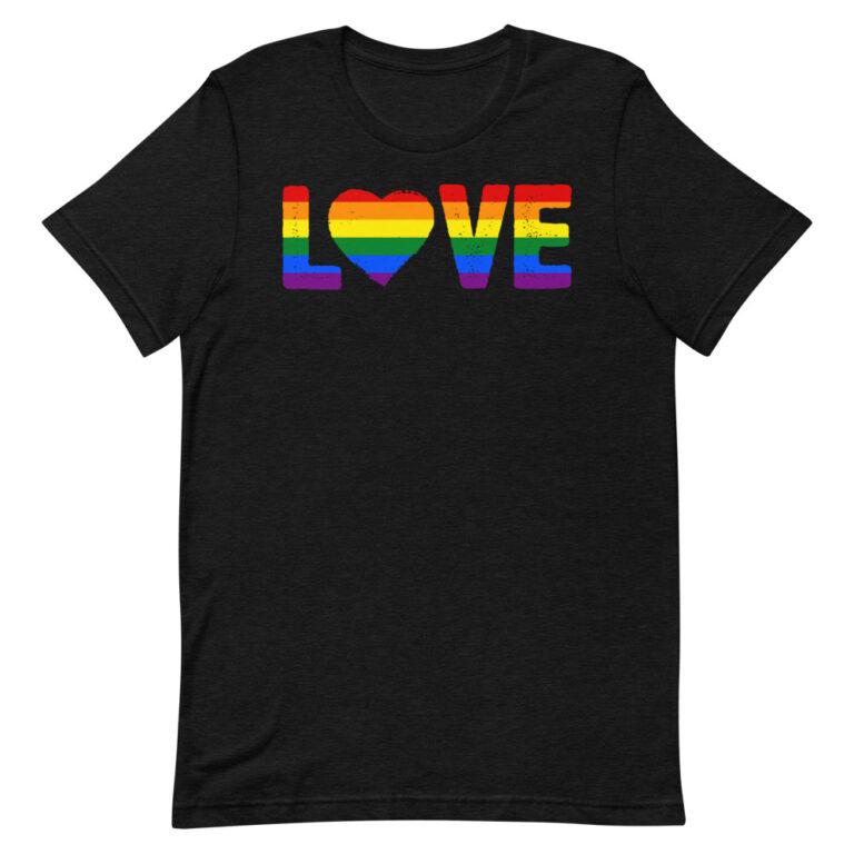 LGBTQ LOVE Gay Pride TShirt