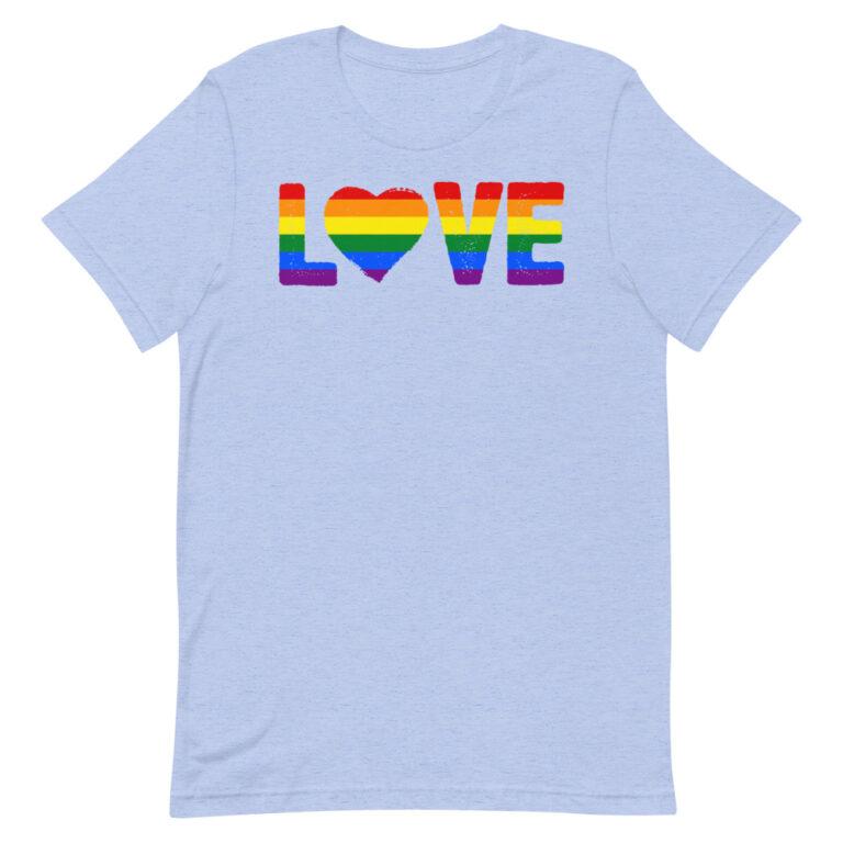 LGBTQ LOVE Gay Pride Shirt