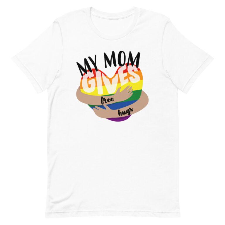 Mom Gives Free Hugs Pride Shirt