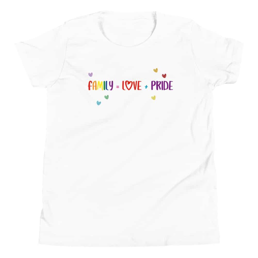 Family Love + Pride Kid TShirt